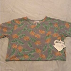 Lularoe girls Gracie top size 10 new with tags